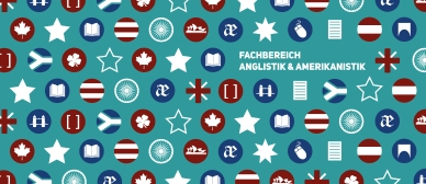 Draft header for the Department of English and American Studies' new Facebook page.